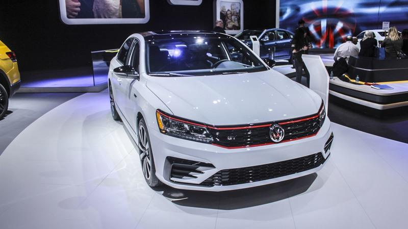 Volkswagen Passat Gets GTI Treatment in Detroit, Sans the Big Horsepower