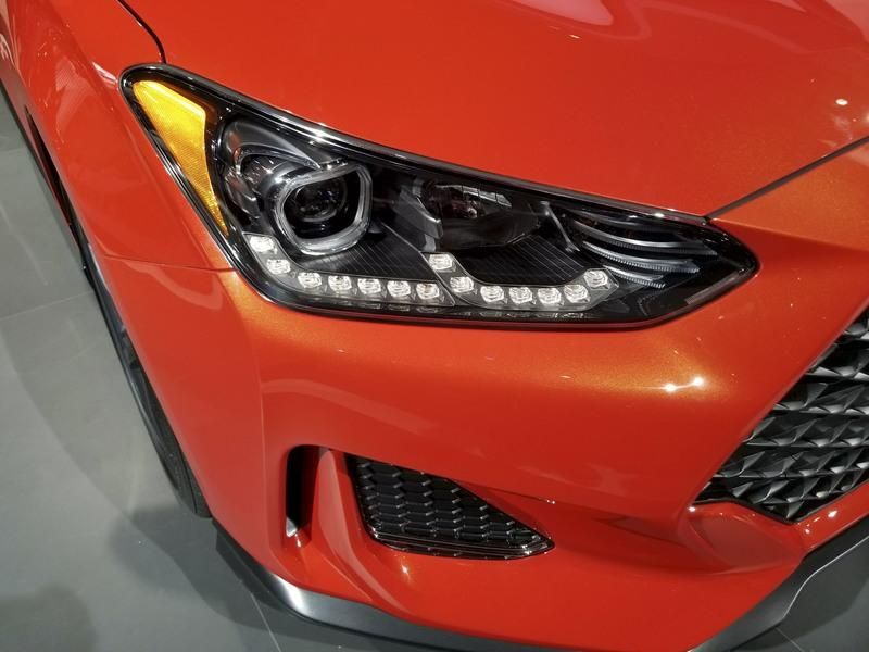 Hyundai Veloster Gets Much-Needed Redesign, but What's with the Lancer Evo Face?