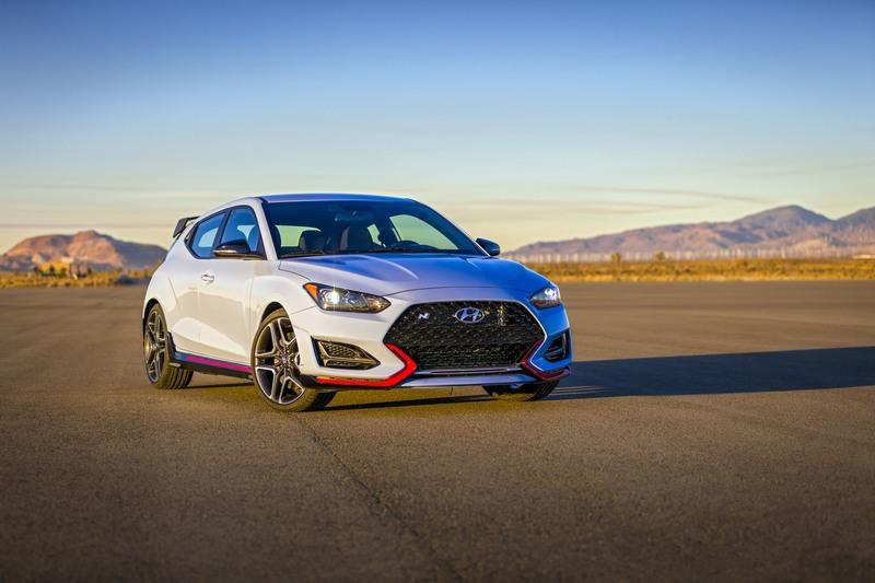 The Hyundai Veloster N Heads to the U.S. to Take On the Volkswagen Golf and Ford Focus