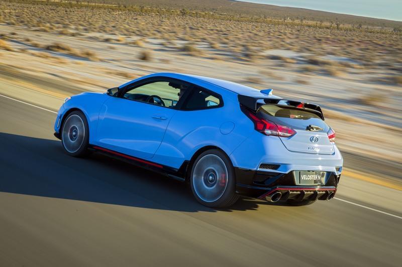 The Hyundai Veloster N Heads to the U.S. to Take On the Volkswagen Golf and Ford Focus Exterior - image 761316