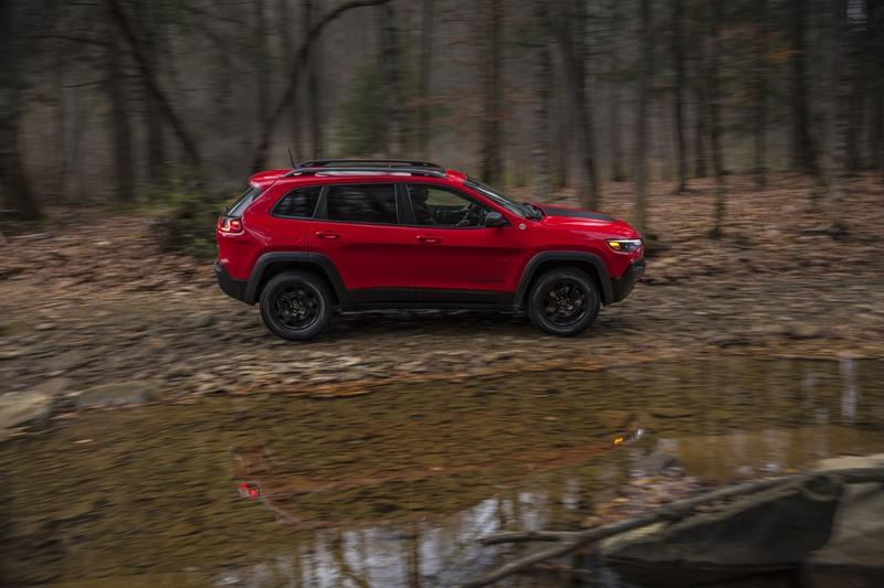 A Detailed Look At The 2019 Jeep Cherokee's 4WD Systems