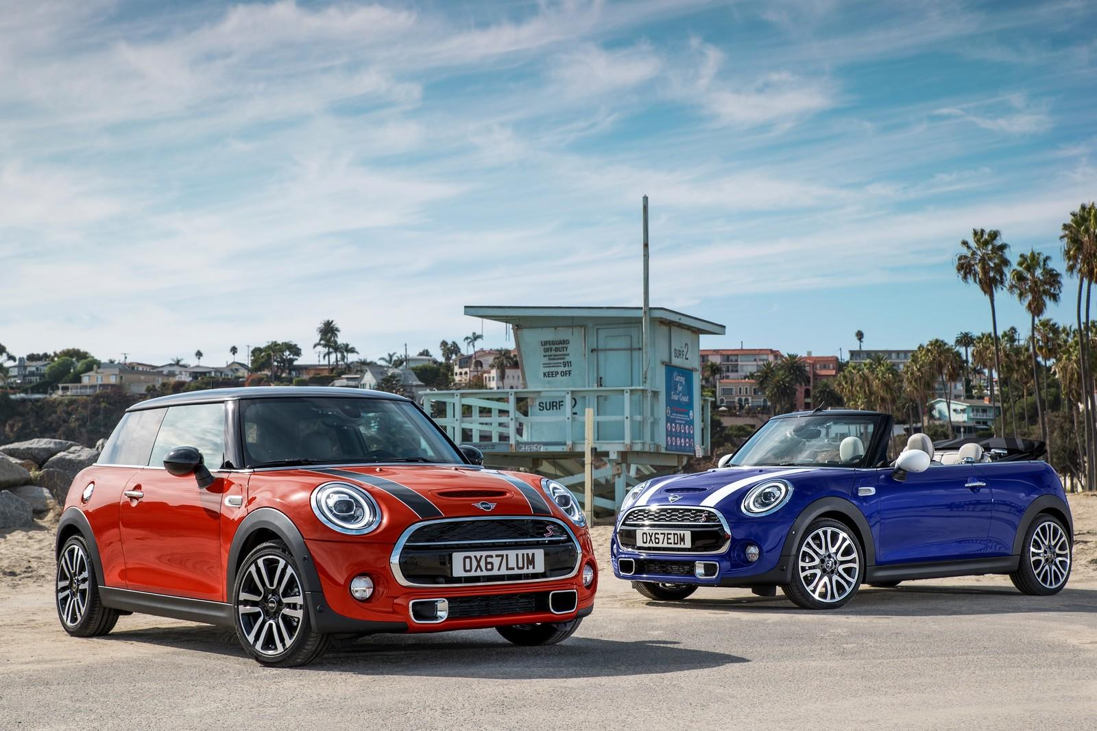 2019 mini cooper lineup unveiled top speed. Black Bedroom Furniture Sets. Home Design Ideas