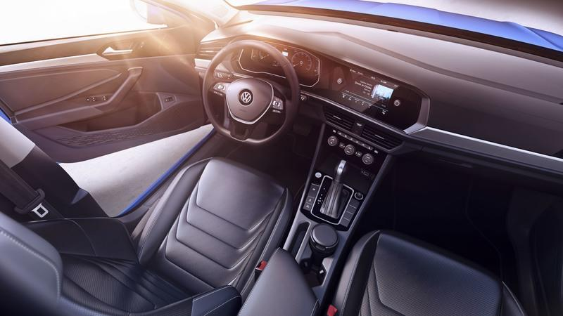The Next-Gen Volkswagen Jetta is Loaded To The Brim With Tech Features Interior - image 758235