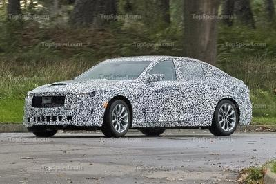 2020 Cadillac CT5 Spied For The First Time - image 757696
