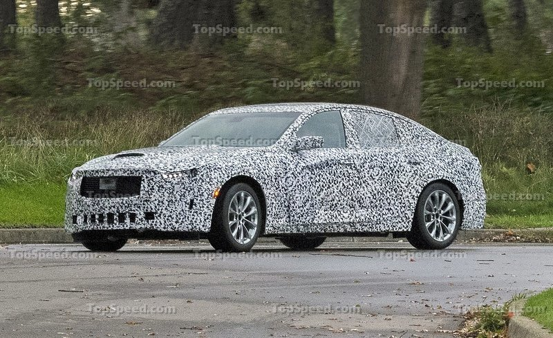 2020 Cadillac CT5 Spied For The First Time Exterior Spyshots - image 757696