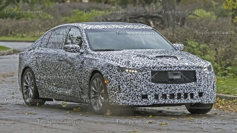 2020 Cadillac CT5 Spied For The First Time