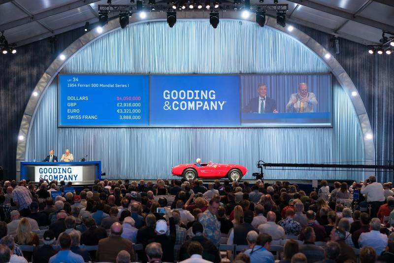 $49 Million in Two Days? Auction Goers Made it Rain at the Gooding & Co Auction in Scottsdale!
