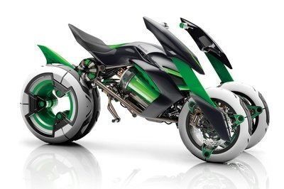 After Yamaha, Kawasaki is high on three wheels