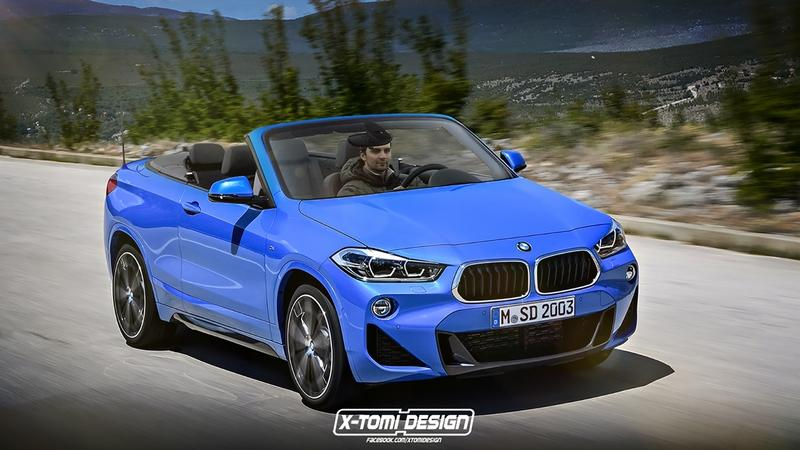 BMW is Seriously Considering a Convertible X2 Crossover