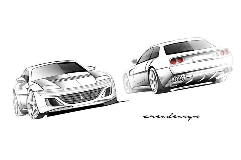 Ares Coachbuilder to Design Ferrari 412-Inspired GTC4Lusso Conversion