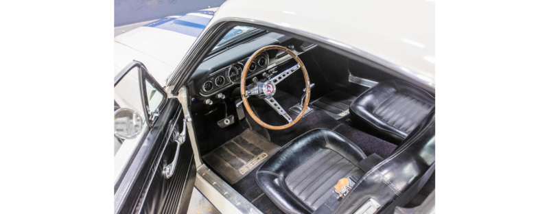 Auction Car of the Month: Carroll Shelby's 1966 Shelby GT350H Fastback