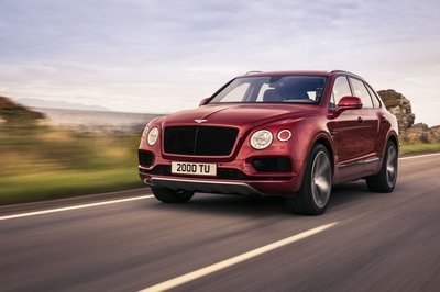 Bentley Adds More Flavor To Its Lineup With A V-8 Bentayga - image 758009