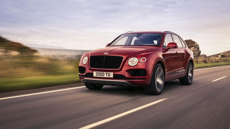 Bentley Adds More Flavor To Its Lineup With A V-8 Bentayga