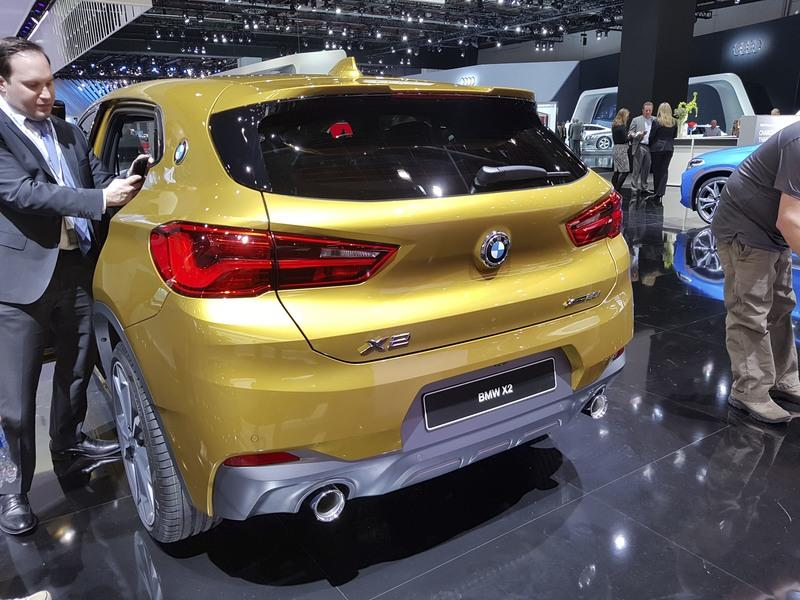 BMW's Smallest SUV Shows its Face in Public at Detroit Auto Show