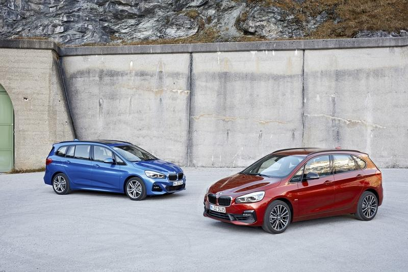 BMW Shows Off Its Updated 2 Series Tourer And Gran Tourer