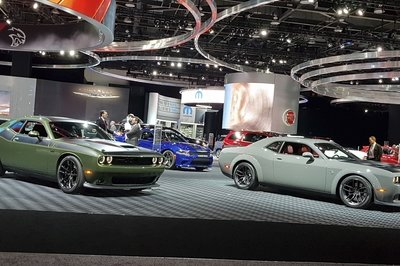 Booth Layout At The Detroit Auto Show Proves FCA Is In Love With The ...