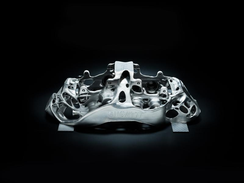 Bugatti Just 3D-Printed the World's Largest Titanium Brake Caliper - image 762420