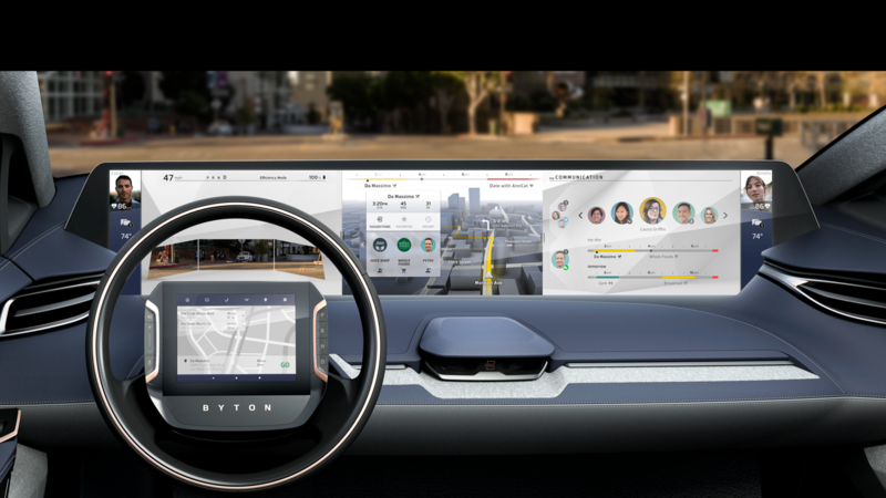 Byton's New Car for CES Will Feature a Tablet Display in the Weirdest Place