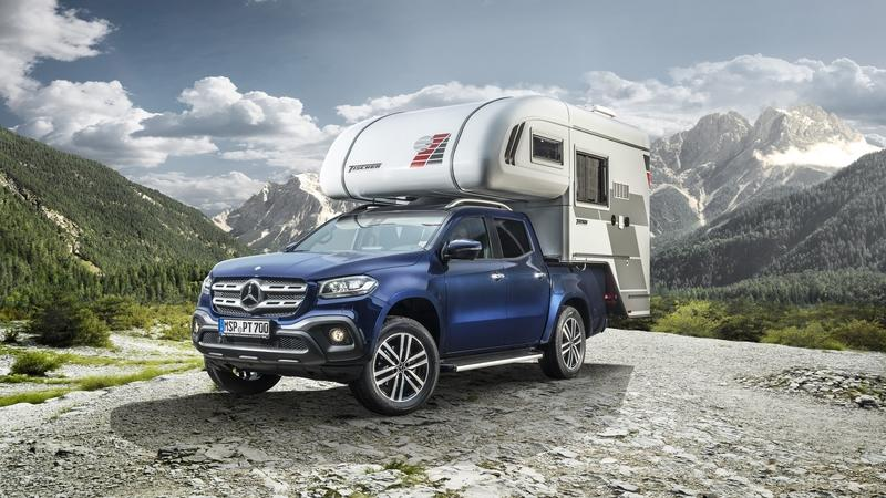 Check Out These Mercedes X-Class Camper Concepts!