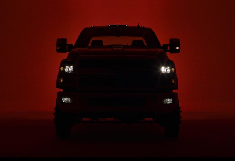 Chevy Drops Teaser of Silverado 4500 and 5500 Prior to March Debut