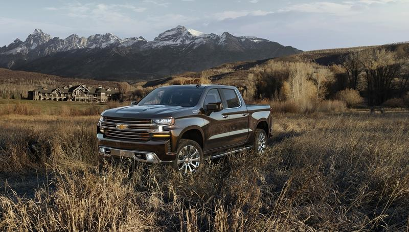 Chevy Offers the 2019 Silverado in Eight Trim Levels Across Three Groups