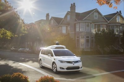 Chrysler to Send Thousands of Pacifica Minivans to Waymo - image 764222