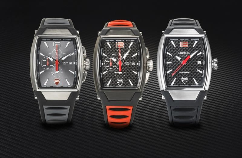 Ducati and Locman have come out with a luxury watch