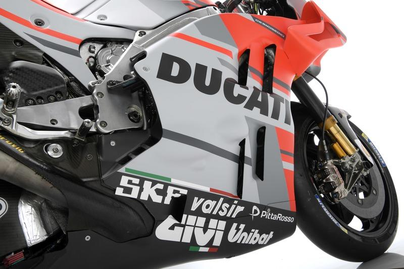 Ducati showcases a new look for their 2018 MotoGP season