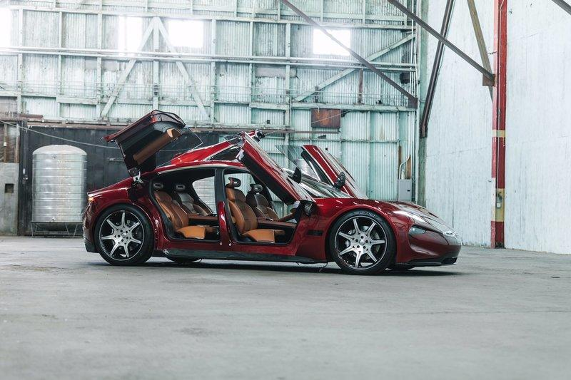 The Fisker EMotion Is A Four-Door Lamborghini with Butterfly Doors