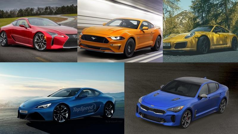 Five Sports Cars To Consider In 2018
