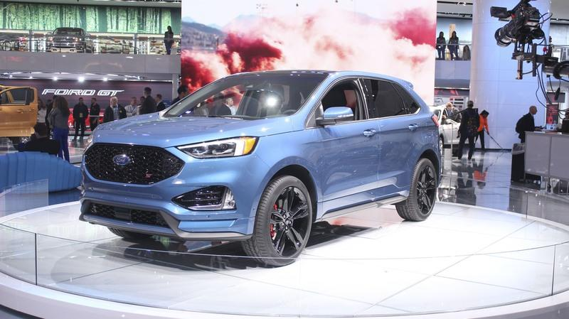 Ford Edge ST Takes Detroit by Storm Exterior - image 759179