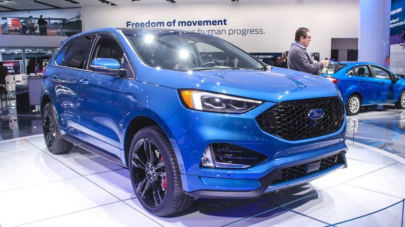Ford Edge ST Takes Detroit by Storm - image 759624