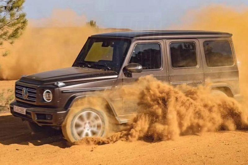 Happy Thursday: Next-Gen Mercedes G-Class Leaks with No Camo
