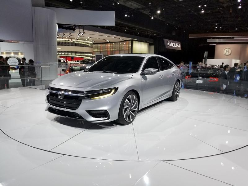 Honda Insight Returns to Take on the Toyota Prius with Sleek Design, High-Tech Interior Exterior - image 758721