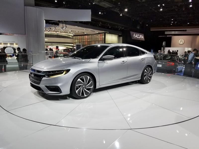 Honda Insight Returns to Take on the Toyota Prius with Sleek Design, High-Tech Interior