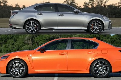 How the Lexus GS 200t F Sport Compares to the GS F - image 756363