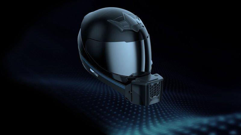 How would you like your helmet have air conditioning?