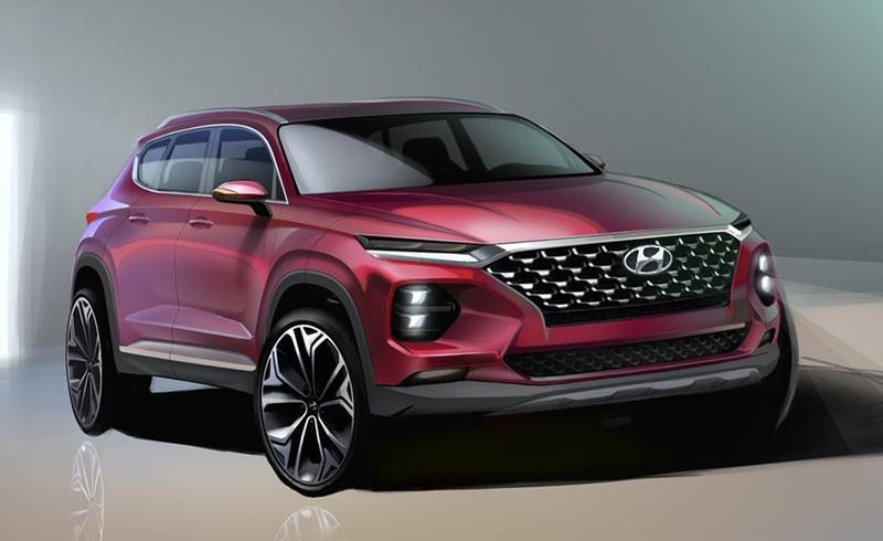 Hyundai Drops a Pair of Teasers for the Next-Gen Santa Fe