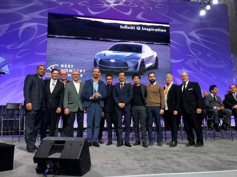 Infiniti, BMW Take Home EyesOn Design Awards in Detroit