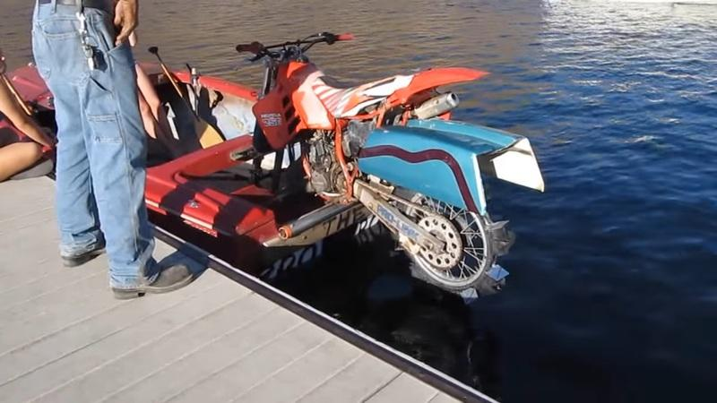Is it a boat? is it a motorcycle? or both?
