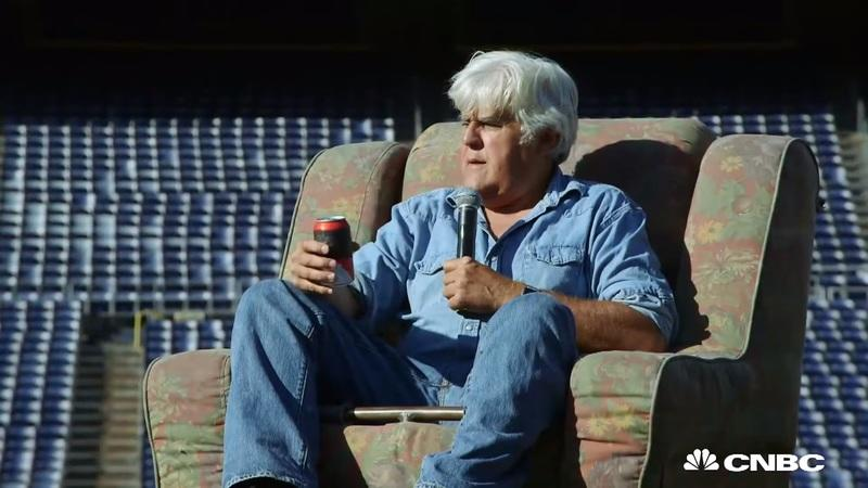 Jay Leno gets a taste of Travis Pastrana's craziness