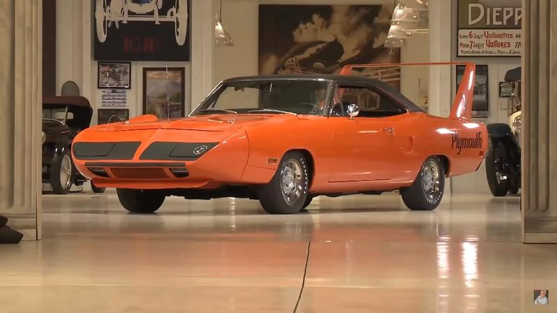 Jay Leno Meets a Plymouth Superbird: Video