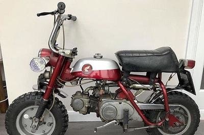 John Lennon's 1969 monkey bike fetches a cool $80,000