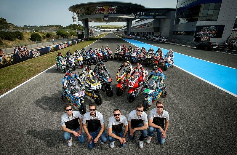 Chassis manufacturer Kalex begins testing for Moto2 with their first Triumph 765 mill