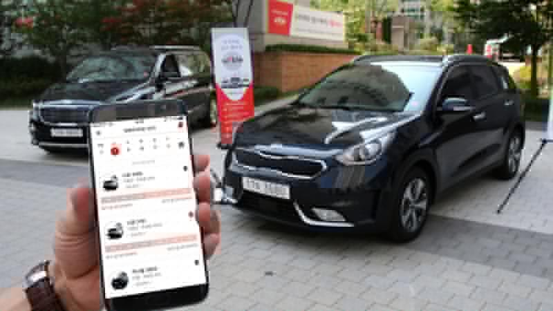 Kia Bringing WiBLE Car-Sharing Service to Europe in 2018