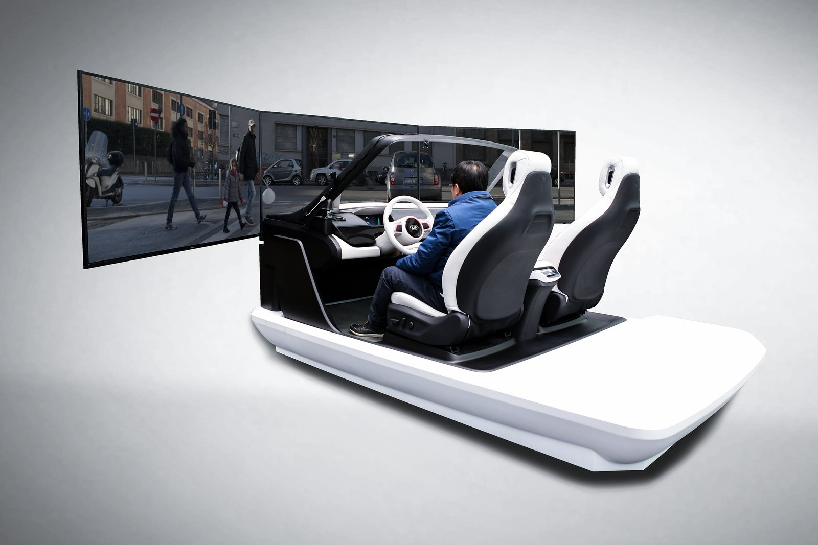 Kia Interactive Cockpit At Ces Shows Off Suite Of New
