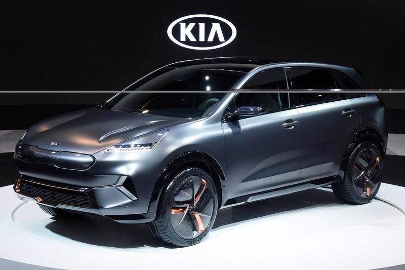 Kia Niro EV Unveiled with 238 Miles of Range at CES