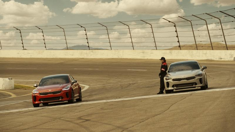 Kia Previews Super Bowl Ad Spot Featuring Emerson Fittipaldi And A Pair Of Stingers