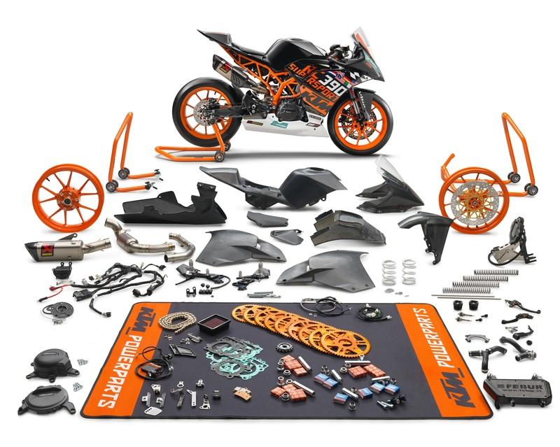 KTM unveils a limited edition RC 390 and a race-spec SSP300 kit