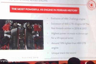 Leaked Specs Say the Ferrari 488 GTO Will Carry the Most Powerful V-8 Engine in Ferrari History - image 761845